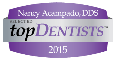 Nancy Acampado, Selected Top Dentist 2015