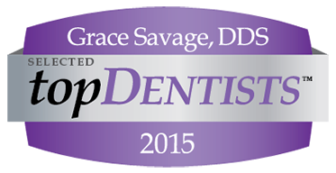 Grace Savage, Selected Top Dentist 2015