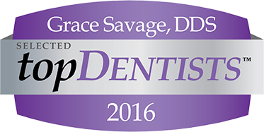 Grace Savage, Selected Top Dentist 2016