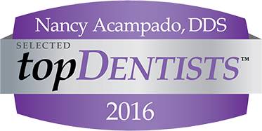 Nancy Acampado, Selected Top Dentist 2016